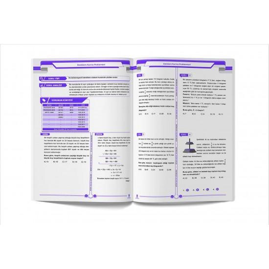 2020 TYT ALES DGS KPSS - Matematiğin Mucidi 2 Problemler Çözümlü ve Çözümsüz Soru Bankası - Kitap Mucidi Yayınları