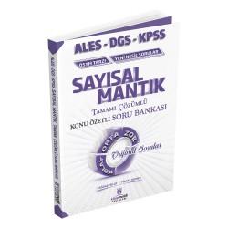 2020 KPSS ALES DGS Sayısal Mantık Tamamı Çözümlü Konu Özetli Soru Bankası Kitap Mucidi Yayınları