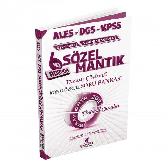 2020 KPSS ALES DGS Sözel Mantık Tamamı Çözümlü Konu Özetli Soru Bankası Kitap Mucidi Yayınları