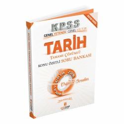 2020 KPSS Tarih Tamamı Çözümlü Konu Özetli Soru Bankası Kitap Mucidi Yayınları 2020