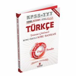 2020 KPSS Türkçe Tamamı Çözümlü Konu Özetli Soru Bankası Kitap Mucidi Yayınları