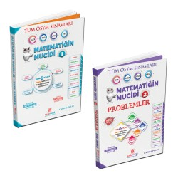 2020 ALES DGS KPSS TYT - Matematiğin Mucidi 1 ve 2 SET Çözümlü ve Çözümsüz Soru Bankası