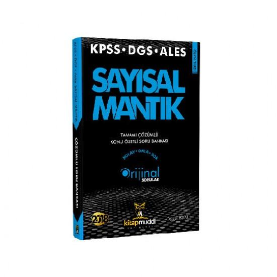 2018 KPSS DGS ALES Sayısal Mantık Tamamı Çözümlü Konu Özetli Soru Bankası Kitap Mucidi Yayınları