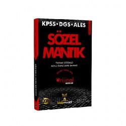 2018 KPSS ALES DGS Sözel Mantık Tamamı Çözümlü Konu Özetli Soru Bankası Kitap Mucidi Yayınları