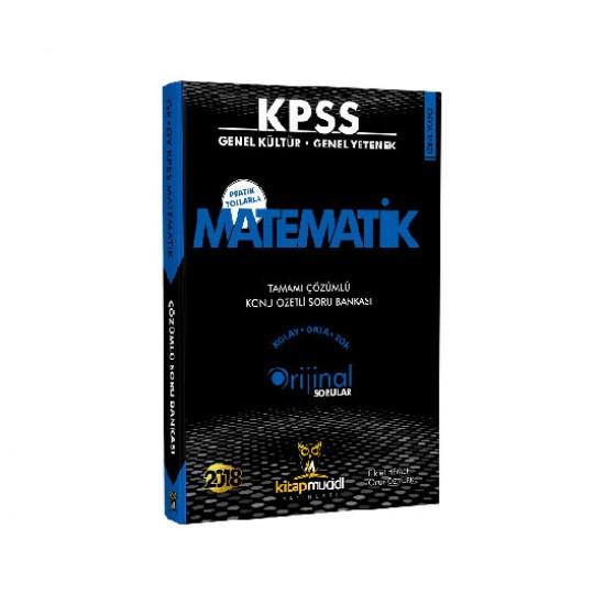 2018 KPSS Matematik Tamamı Çözümlü Konu Özetli Soru Bankası Kitap Mucidi Yayınları